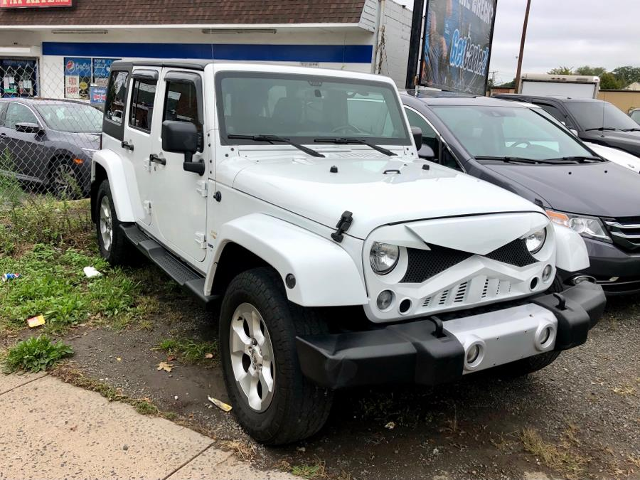 Used Jeep Wrangler Unlimited 4WD 4dr Sahara 2014 | Primetime Auto Sales and Repair. New Haven, Connecticut