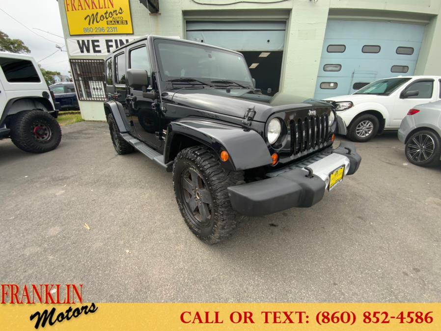 Used 2012 Jeep Wrangler Unlimited in Hartford, Connecticut   Franklin Motors Auto Sales LLC. Hartford, Connecticut