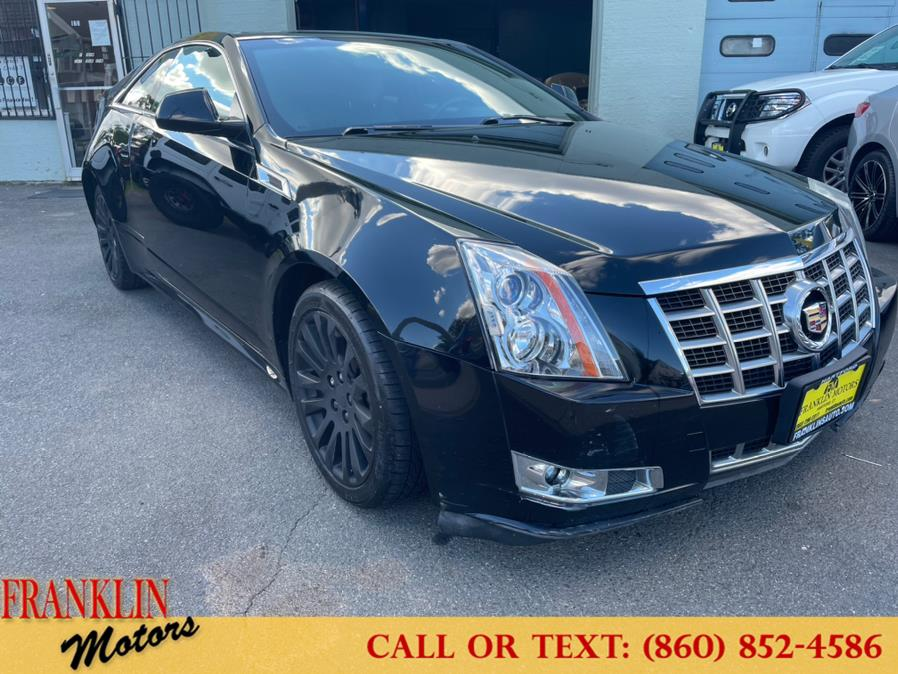 Used 2014 Cadillac CTS Coupe in Hartford, Connecticut   Franklin Motors Auto Sales LLC. Hartford, Connecticut