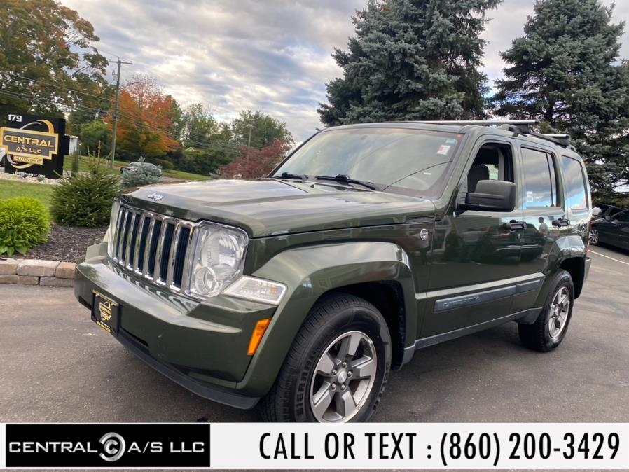 Used Jeep Liberty 4WD 4dr Sport 2008   Central A/S LLC. East Windsor, Connecticut