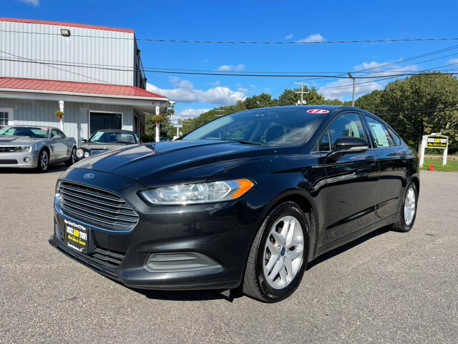 Used Ford Fusion 4dr Sdn SE FWD 2015   Mike And Tony Auto Sales, Inc. South Windsor, Connecticut