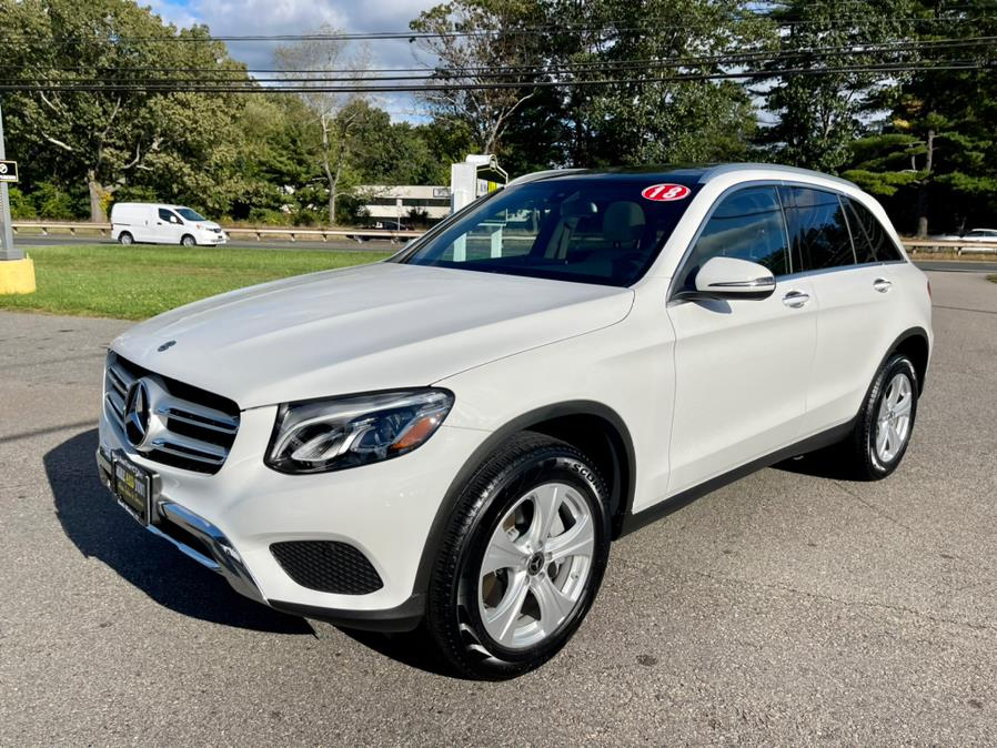 Used Mercedes-Benz GLC GLC 300 4MATIC SUV 2018   Mike And Tony Auto Sales, Inc. South Windsor, Connecticut