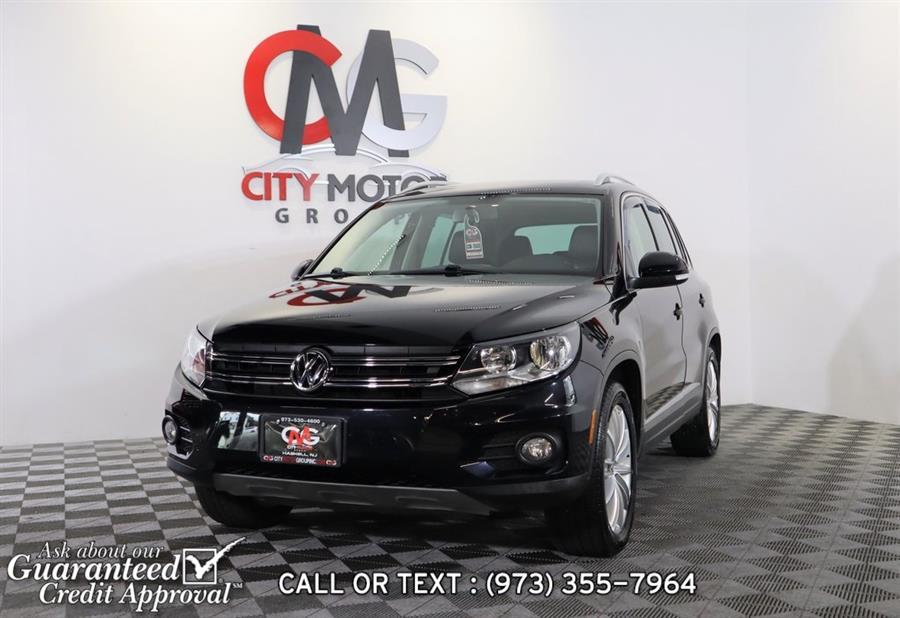 Used Volkswagen Tiguan SEL 2014   City Motor Group Inc.. Haskell, New Jersey