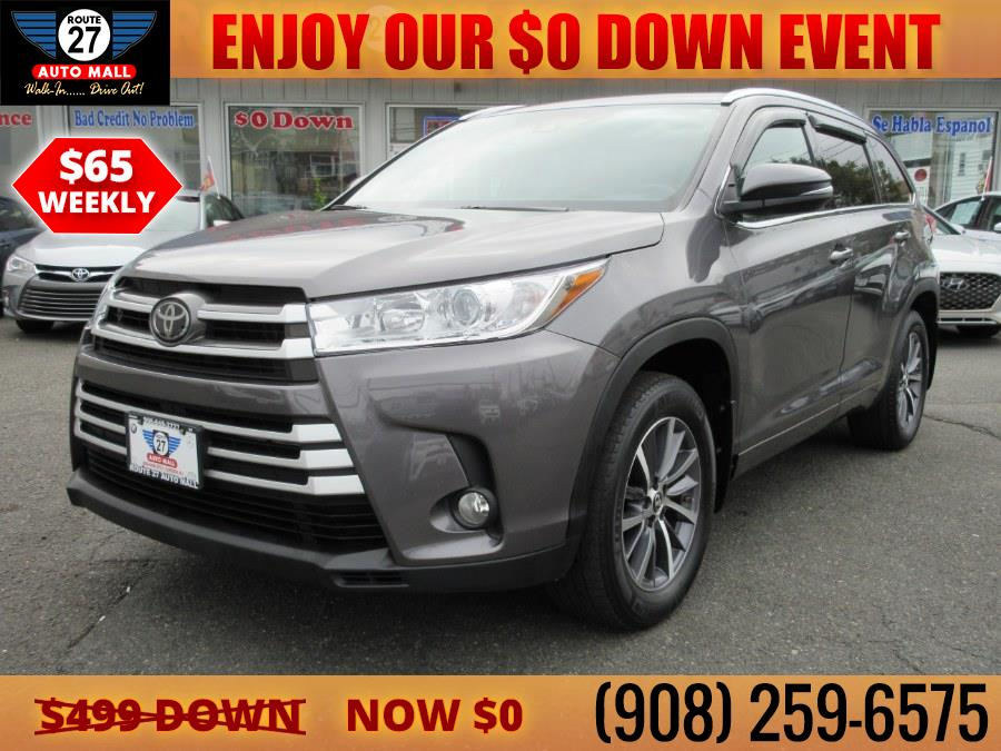 Used 2018 Toyota Highlander in Linden, New Jersey | Route 27 Auto Mall. Linden, New Jersey