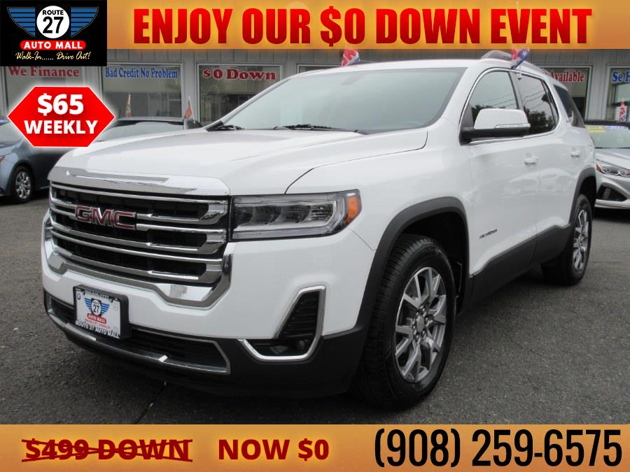 Used 2020 GMC Acadia in Linden, New Jersey   Route 27 Auto Mall. Linden, New Jersey