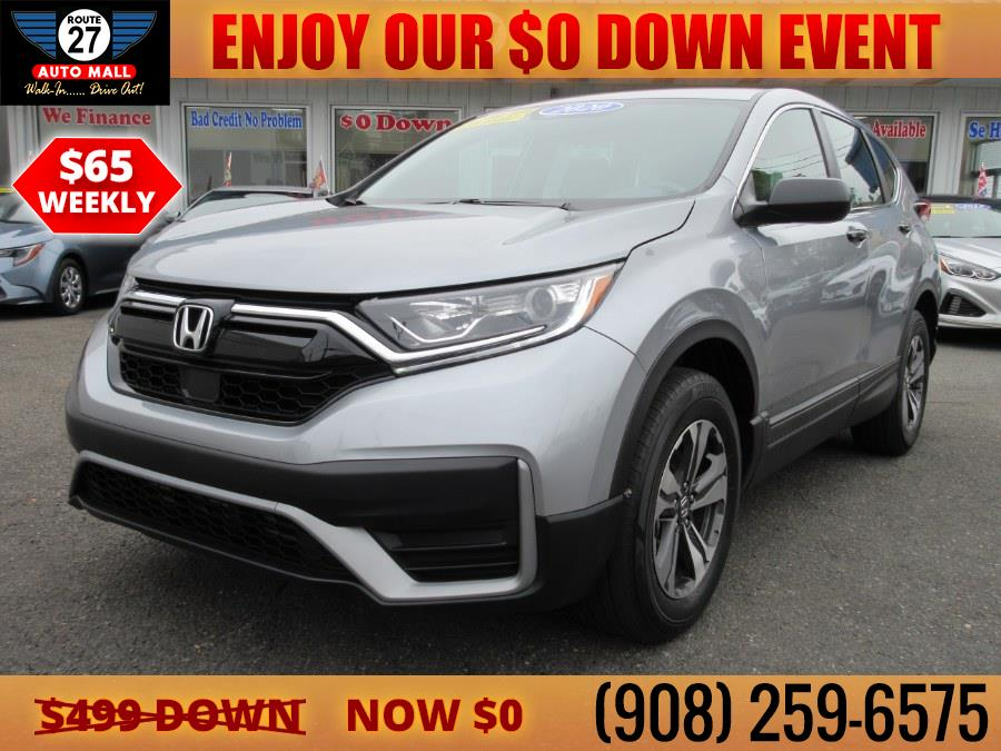 Used 2020 Honda CR-V in Linden, New Jersey   Route 27 Auto Mall. Linden, New Jersey