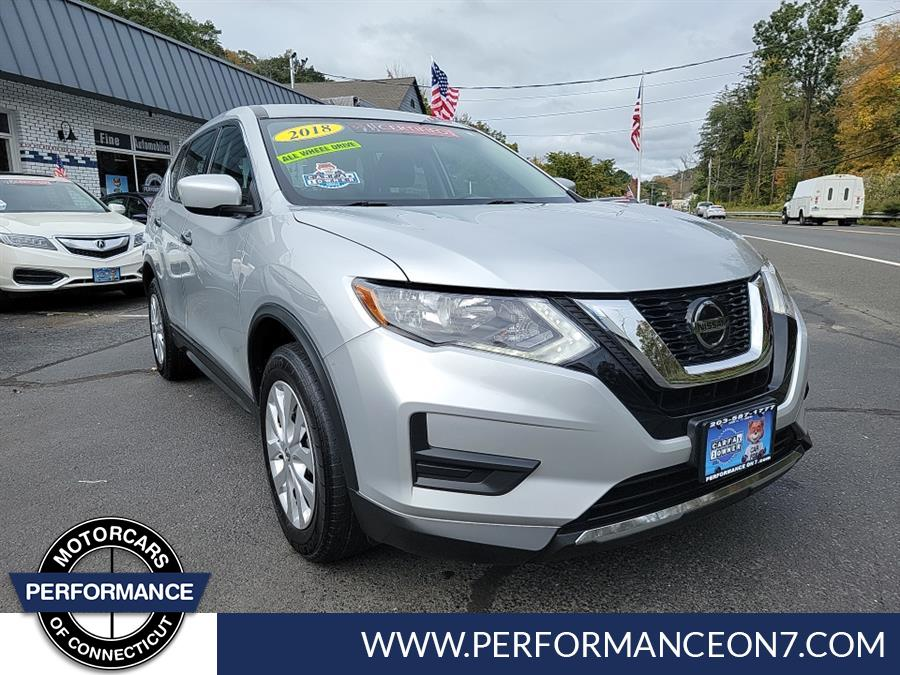 Used 2018 Nissan Rogue in Wilton, Connecticut   Performance Motor Cars Of Connecticut LLC. Wilton, Connecticut