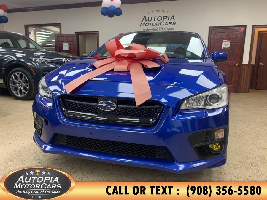 Used Subaru WRX 4dr Sdn Man 2016 | Autopia Motorcars Inc. Union, New Jersey