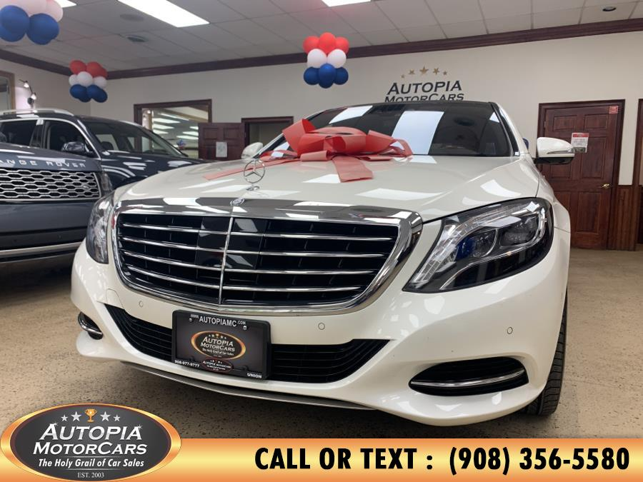 Used Mercedes-Benz S-Class 4dr Sdn S 550 RWD 2016 | Autopia Motorcars Inc. Union, New Jersey