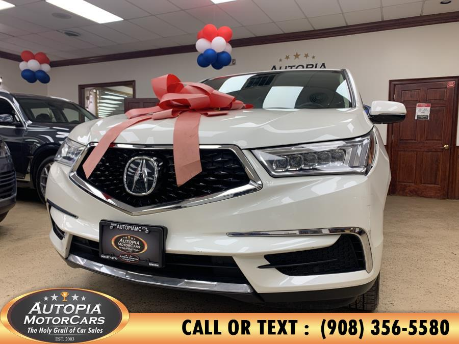 Used 2017 Acura MDX in Union, New Jersey | Autopia Motorcars Inc. Union, New Jersey
