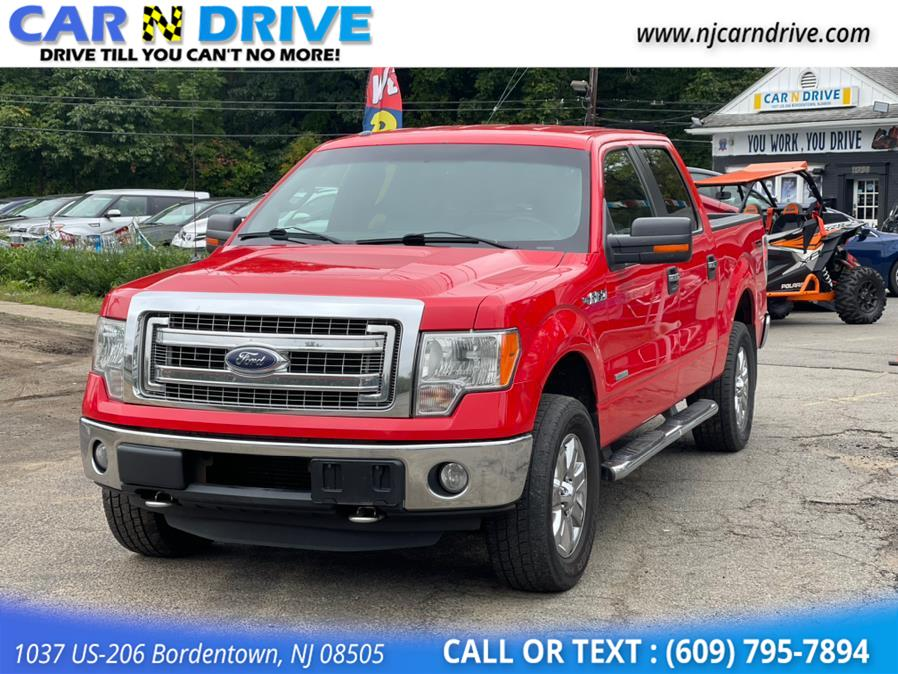 Used Ford F-150 XLT SuperCrew 6.5-ft. Bed 4WD 2013 | Car N Drive. Bordentown, New Jersey