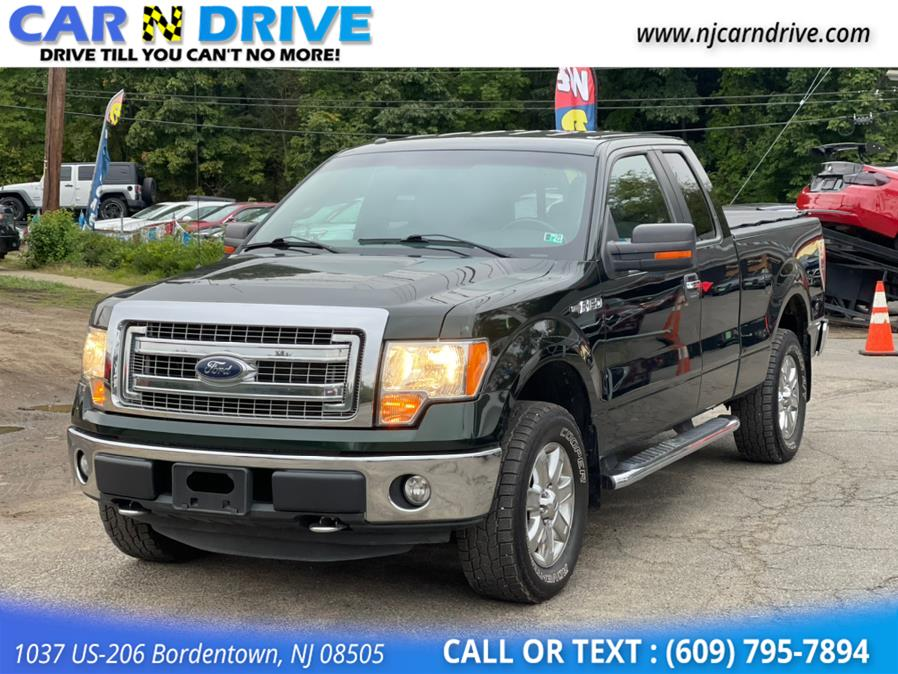 Used Ford F-150 XLT SuperCab 6.5-ft. Bed 4WD 2013 | Car N Drive. Bordentown, New Jersey