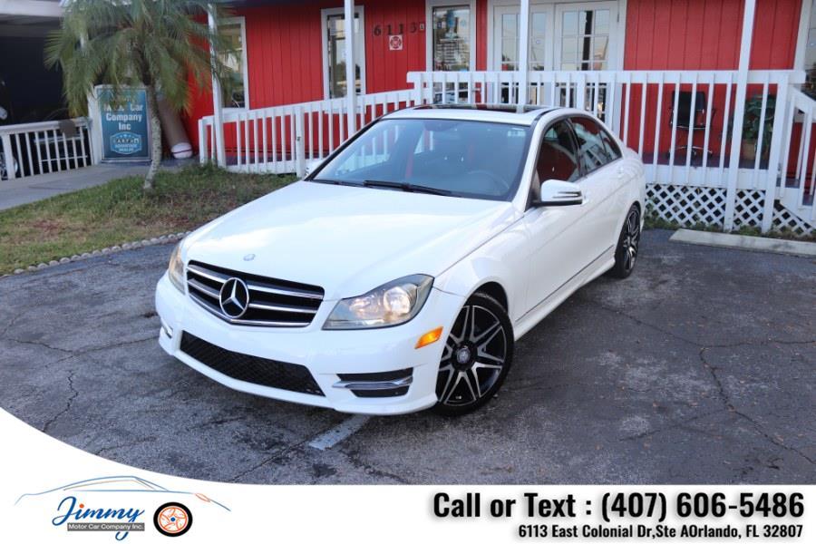 Used Mercedes-Benz C-Class 4dr Sdn C 250 Sport RWD 2014   Jimmy Motor Car Company Inc. Orlando, Florida