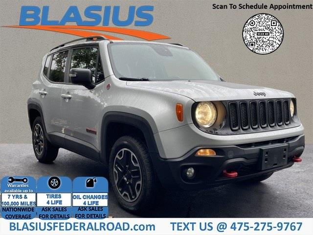 Used Jeep Renegade Trailhawk 2016   Blasius Federal Road. Brookfield, Connecticut