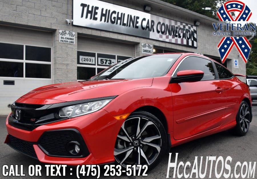 Used 2018 Honda Civic Si Coupe in Waterbury, Connecticut | Highline Car Connection. Waterbury, Connecticut