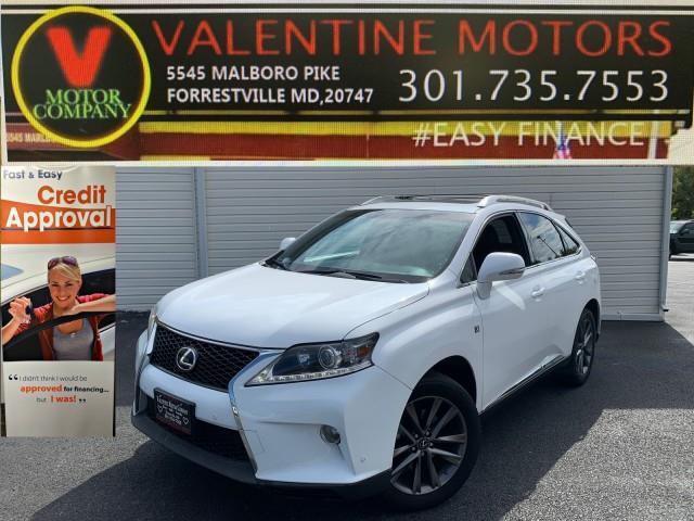 Used Lexus Rx 350 F Sport 2014   Valentine Motor Company. Forestville, Maryland