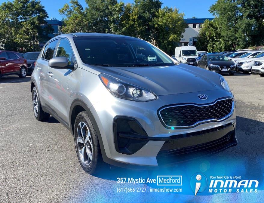 Used Kia Sportage LX FWD 2021 | Inman Motors Sales. Medford, Massachusetts