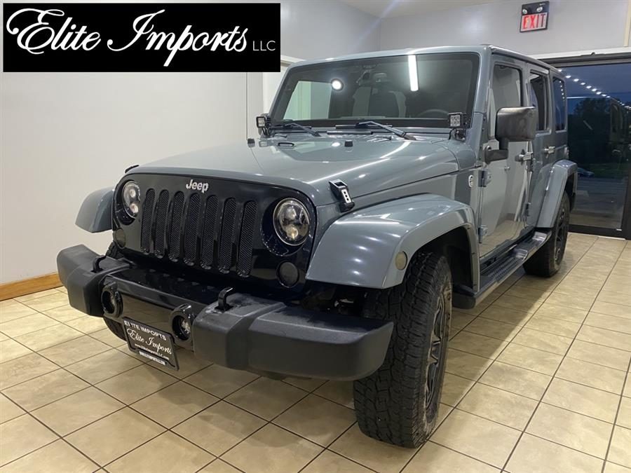 Used Jeep Wrangler Unlimited Unlimited Sahara 2015 | Elite Imports LLC. West Chester, Ohio
