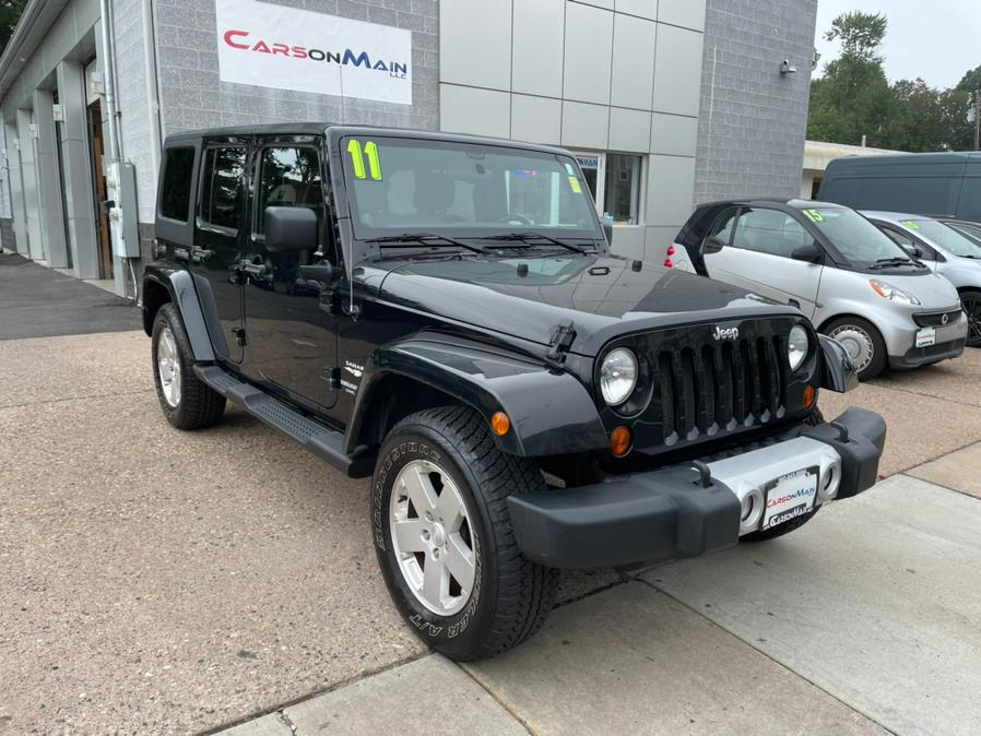 Used Jeep Wrangler Unlimited 4WD 4dr Sahara 2011   Carsonmain LLC. Manchester, Connecticut