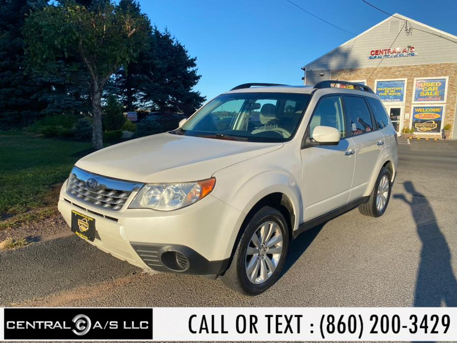 Used Subaru Forester 4dr Auto 2.5X Premium 2012 | Central A/S LLC. East Windsor, Connecticut