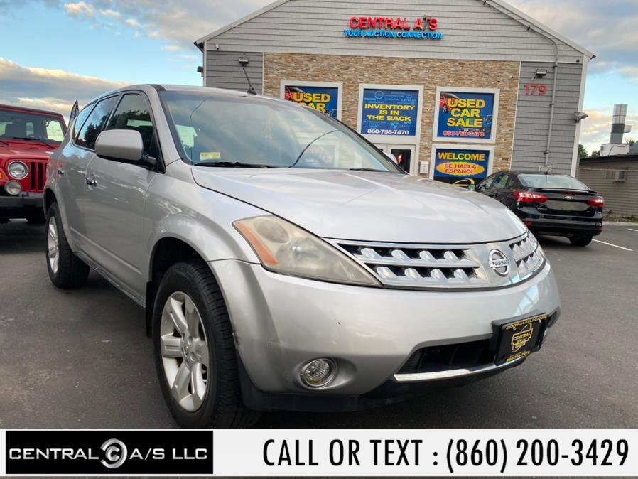 Used Nissan Murano AWD 4dr S 2007 | Central A/S LLC. East Windsor, Connecticut