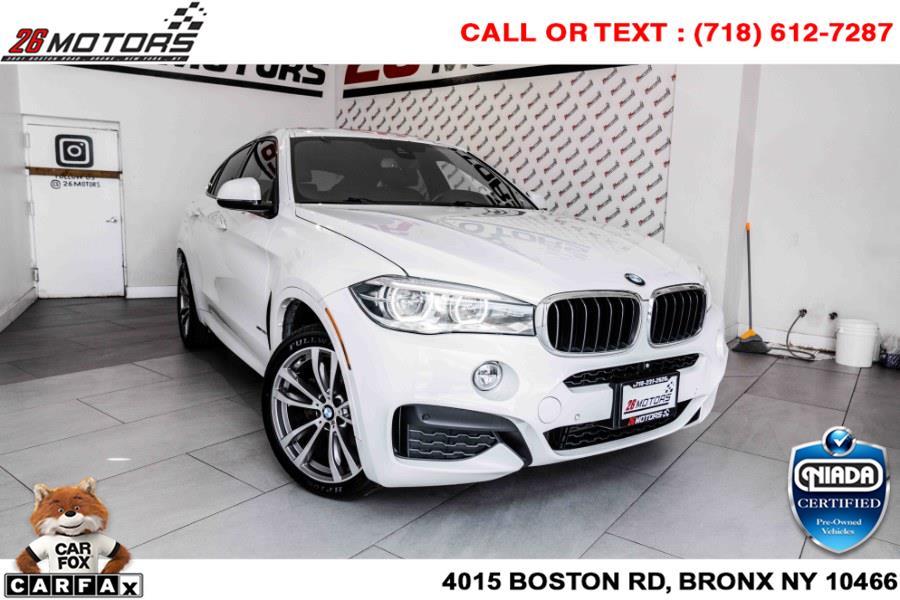 Used BMW X6 AWD 4dr xDrive35i 2015   26 Motors Corp. Bronx, New York