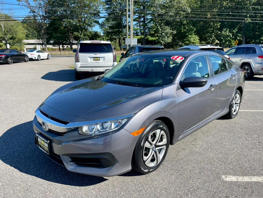 Used Honda Civic Sedan LX Manual 2018 | Mike And Tony Auto Sales, Inc. South Windsor, Connecticut