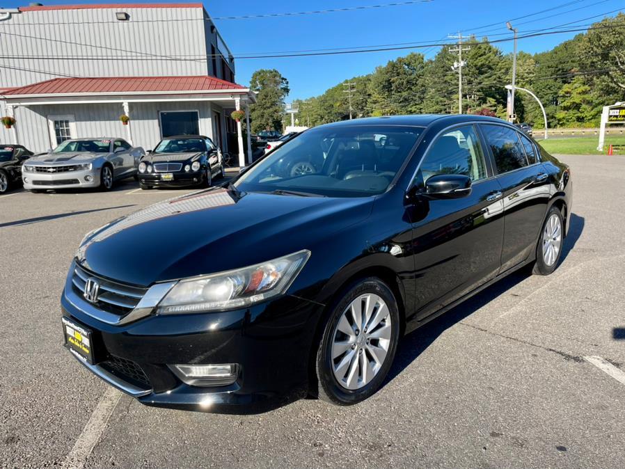Used Honda Accord Sdn 4dr I4 CVT EX-L w/Navi 2013 | Mike And Tony Auto Sales, Inc. South Windsor, Connecticut