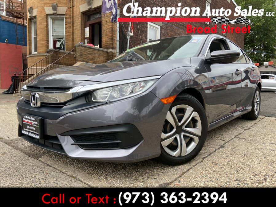 Used 2018 Honda Civic Sedan in Newark, New Jersey | Champion Used Auto Sales LLC. Newark, New Jersey