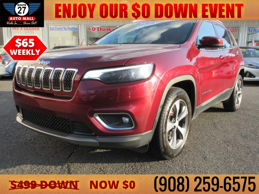 Used 2019 Jeep Cherokee in Linden, New Jersey   Route 27 Auto Mall. Linden, New Jersey