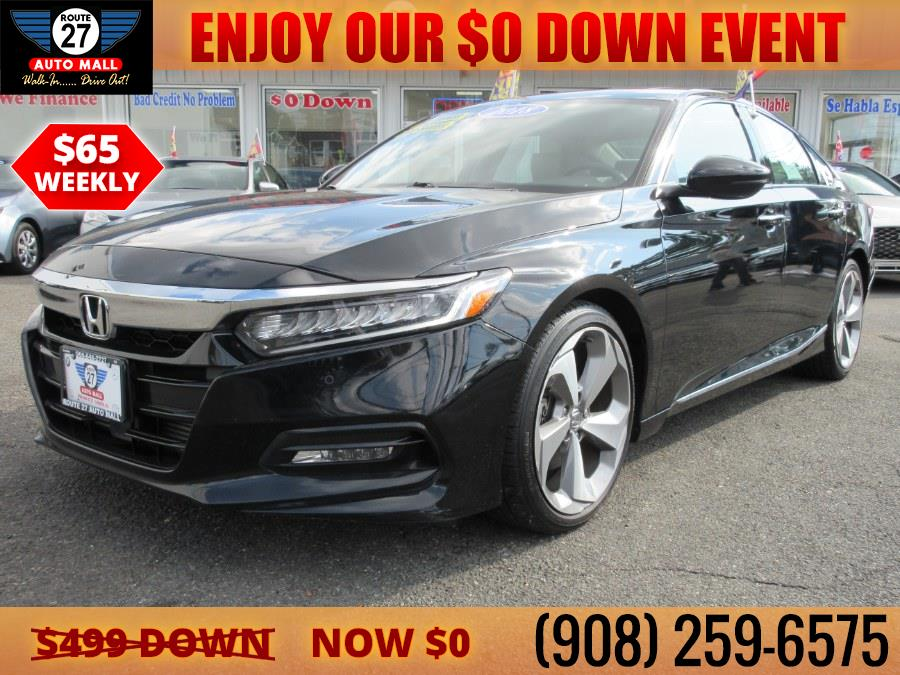 Used 2018 Honda Accord Sedan in Linden, New Jersey   Route 27 Auto Mall. Linden, New Jersey