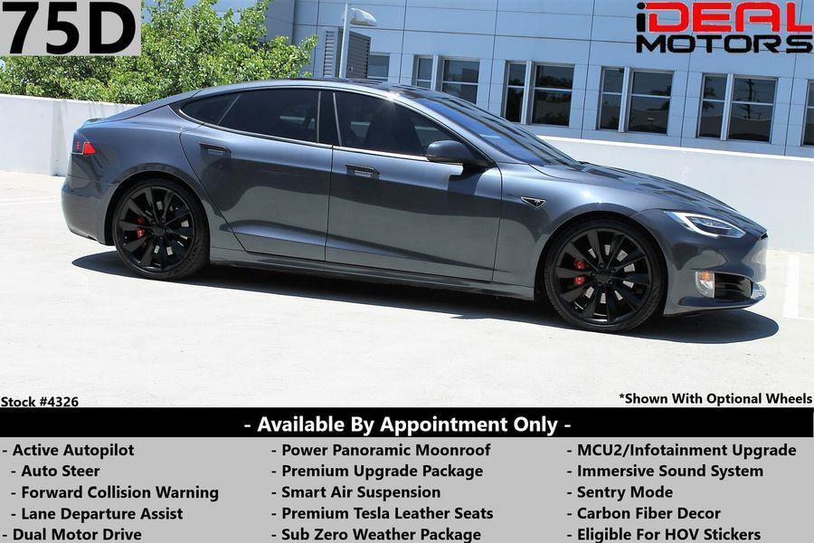 Used Tesla Model s 75D Sedan 4D 2018   Ideal Motors. Costa Mesa, California