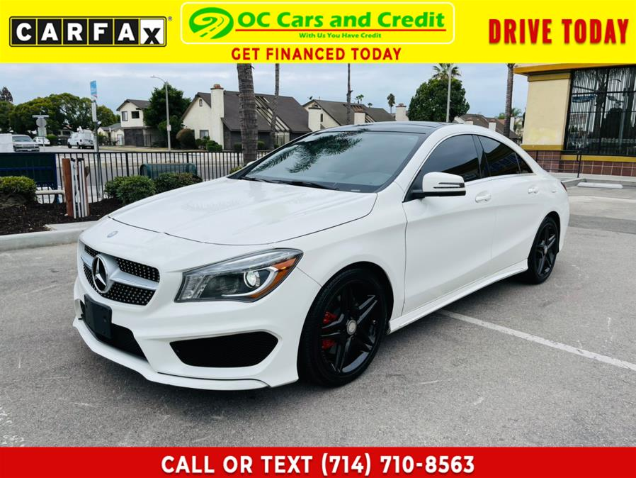 Used Mercedes-Benz CLA-Class 4dr Sdn CLA250 FWD 2014 | OC Cars and Credit. Garden Grove, California