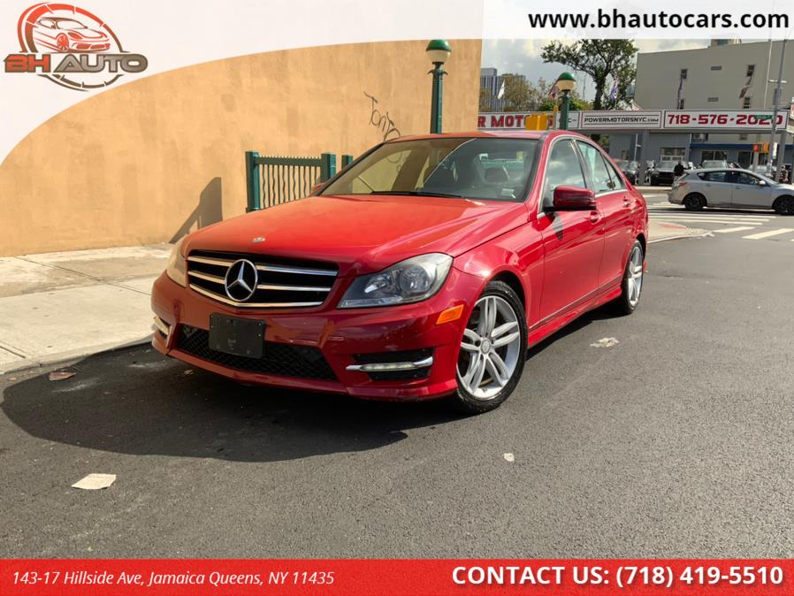 Used Mercedes-Benz C-Class 4dr Sdn C300 Sport 4MATIC 2014   BH Auto. Jamaica Queens, New York