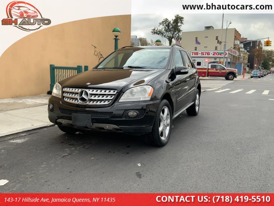 Used Mercedes-Benz M-Class 4MATIC 4dr 3.5L 2008   BH Auto. Jamaica Queens, New York