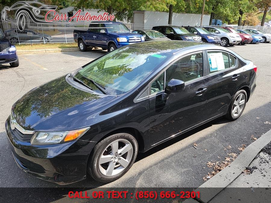 Used 2012 Honda Civic Sdn in Delran, New Jersey | Carr Automotive. Delran, New Jersey