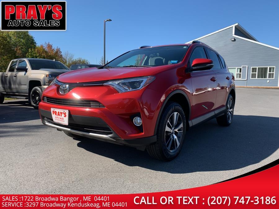 Used Toyota RAV4 AWD 4dr XLE (Natl) 2016 | Pray's Auto Sales . Bangor , Maine