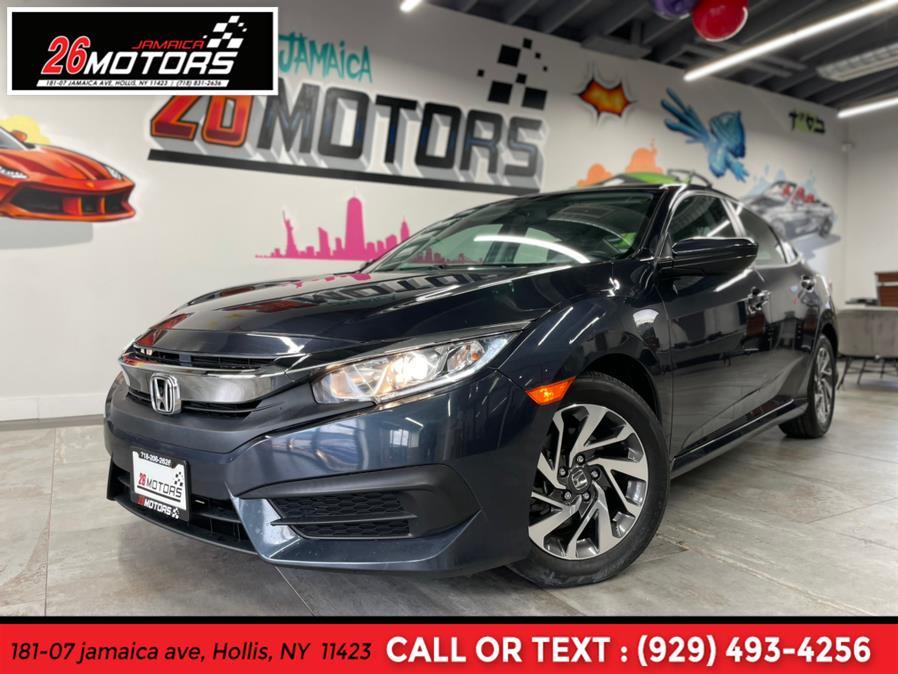 Used Honda Civic EX EX CVT 2018 | Jamaica 26 Motors. Hollis, New York