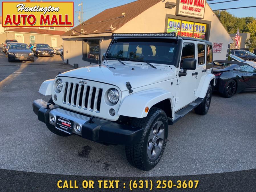 Used Jeep Wrangler JK Unlimited Sahara 4x4 2018   Huntington Auto Mall. Huntington Station, New York