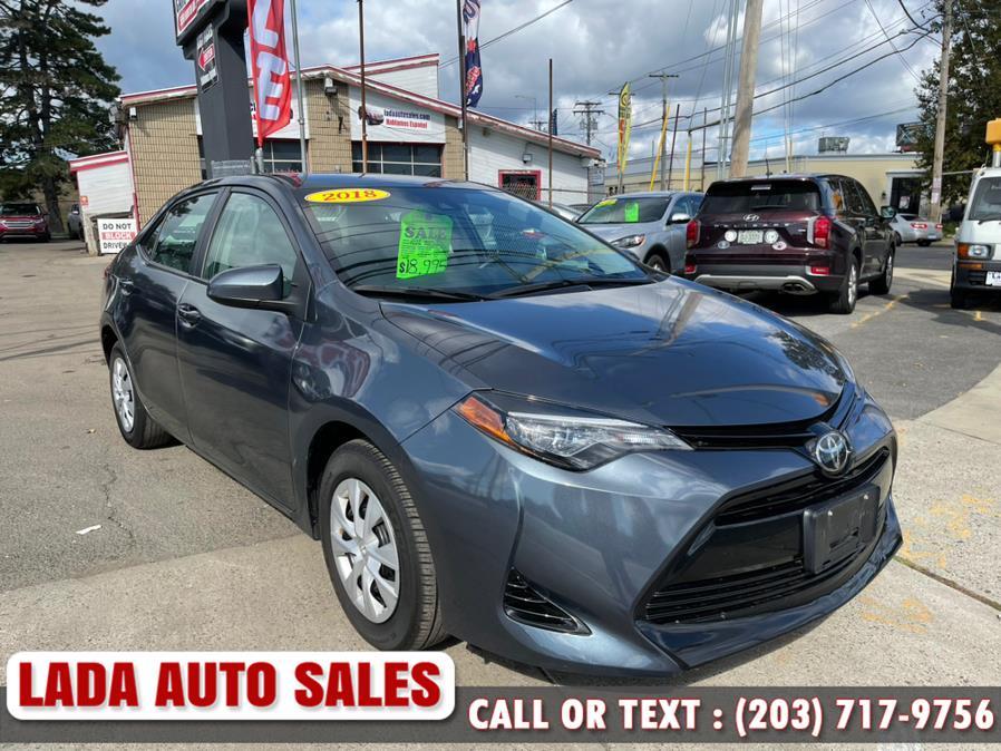 Used 2018 Toyota Corolla in Bridgeport, Connecticut | Lada Auto Sales. Bridgeport, Connecticut