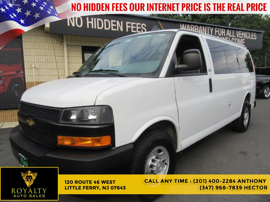 """Used Chevrolet Express Passenger RWD 2500 135"""" LS 2018 