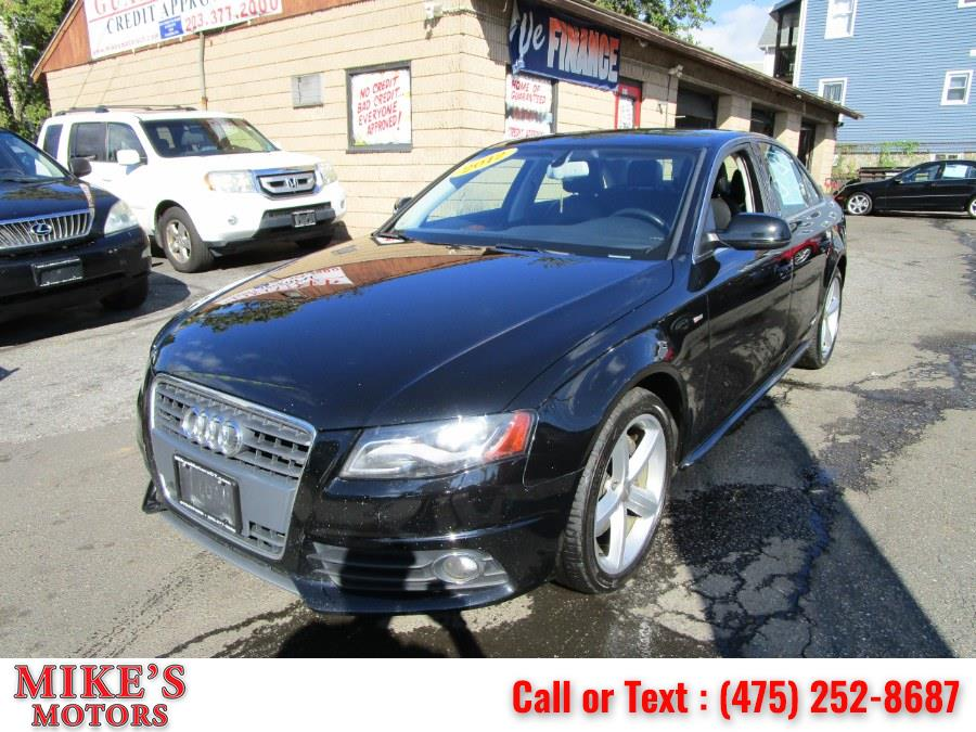 Used 2012 Audi A4 in Stratford, Connecticut | Mike's Motors LLC. Stratford, Connecticut