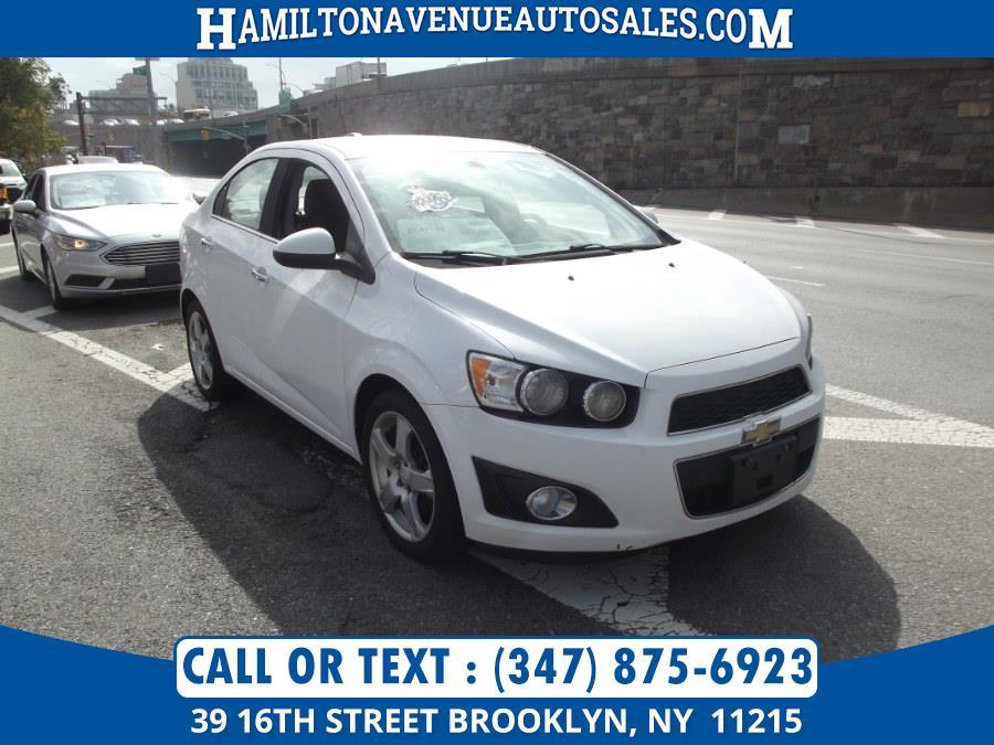 Used Chevrolet Sonic 4dr Sdn Auto LTZ 2015 | Hamilton Avenue Auto Sales DBA Nyautoauction.com. Brooklyn, New York