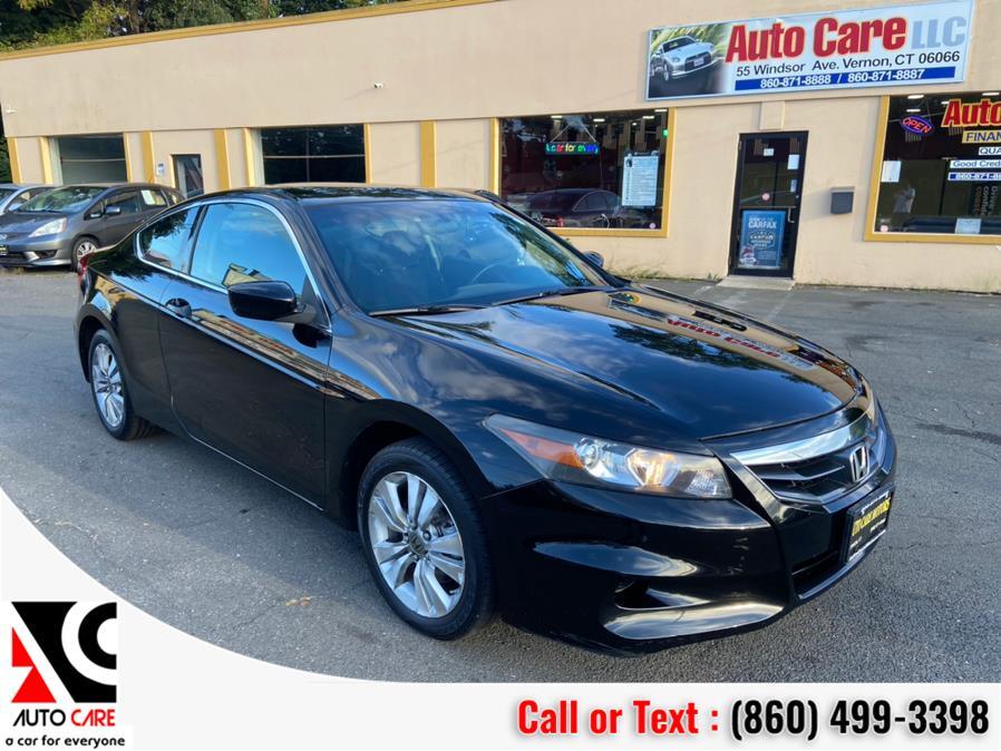 Used 2012 Honda Accord Cpe in Vernon , Connecticut | Auto Care Motors. Vernon , Connecticut