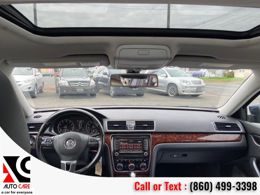 Used Volkswagen Passat 4dr Sdn 2.5L Auto SEL PZEV *Ltd Avail* 2013 | Auto Care Motors. Vernon , Connecticut