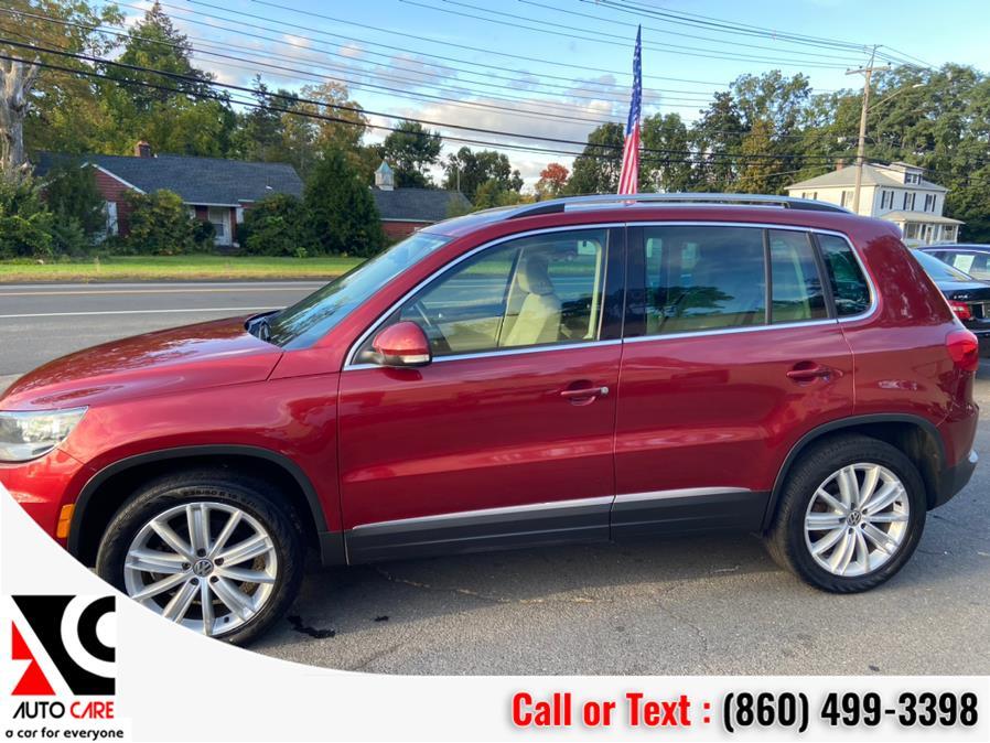 Used Volkswagen Tiguan 4WD 4dr Auto SE w/Sunroof & Nav 2012 | Auto Care Motors. Vernon , Connecticut