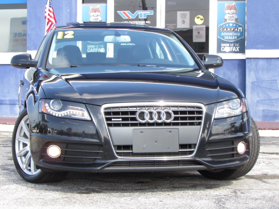 Used 2012 Audi A4 in Orlando, Florida | VIP Auto Enterprise, Inc. Orlando, Florida