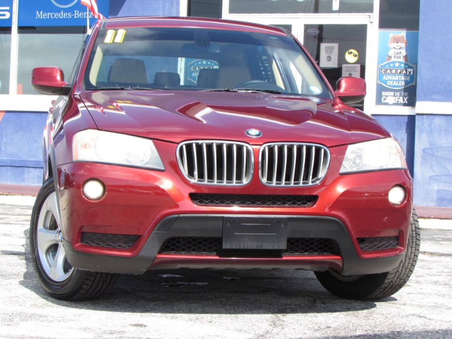 Used 2011 BMW X3 in Orlando, Florida | VIP Auto Enterprise, Inc. Orlando, Florida