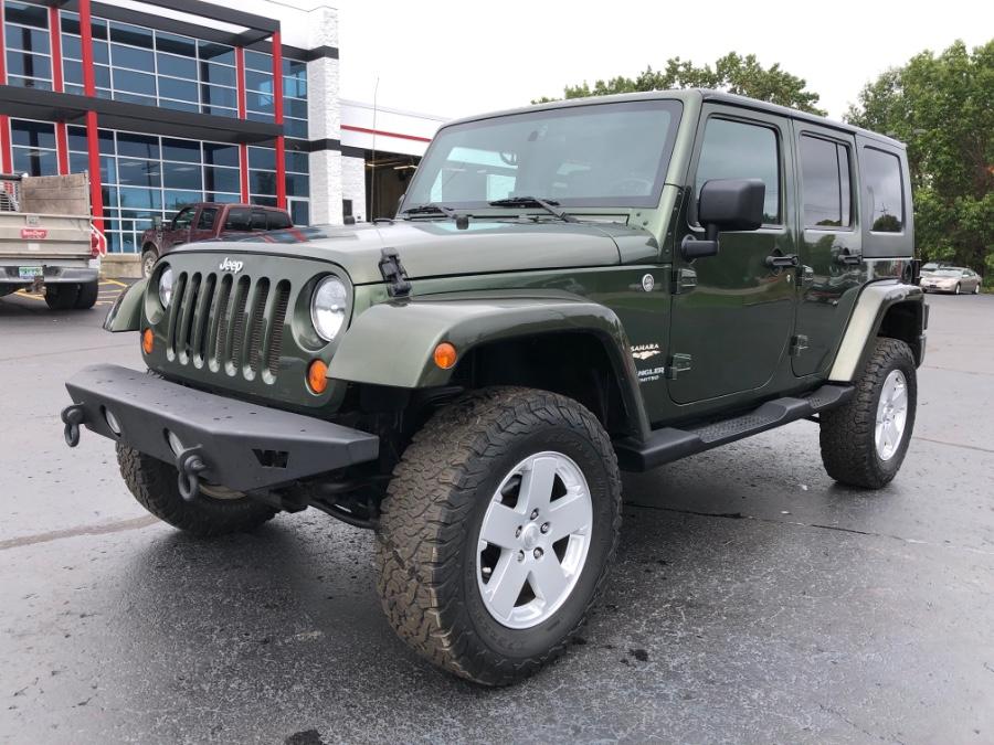 Used Jeep Wrangler 4WD 4dr Unlimited Sahara 2007   Marsh Auto Sales LLC. Ortonville, Michigan