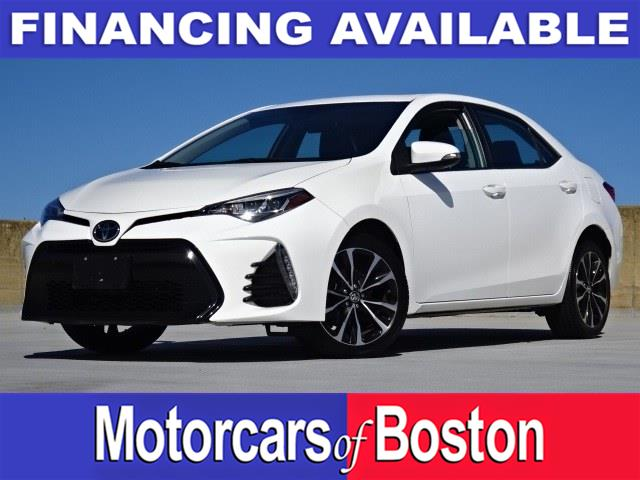 Used Toyota Corolla SE CVT (Natl) 2018   Motorcars of Boston. Newton, Massachusetts